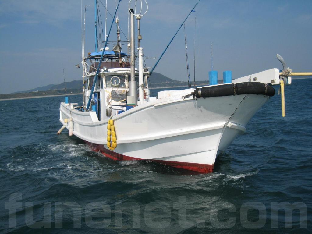 大弥造船所製 40Ft 一本釣り漁船...