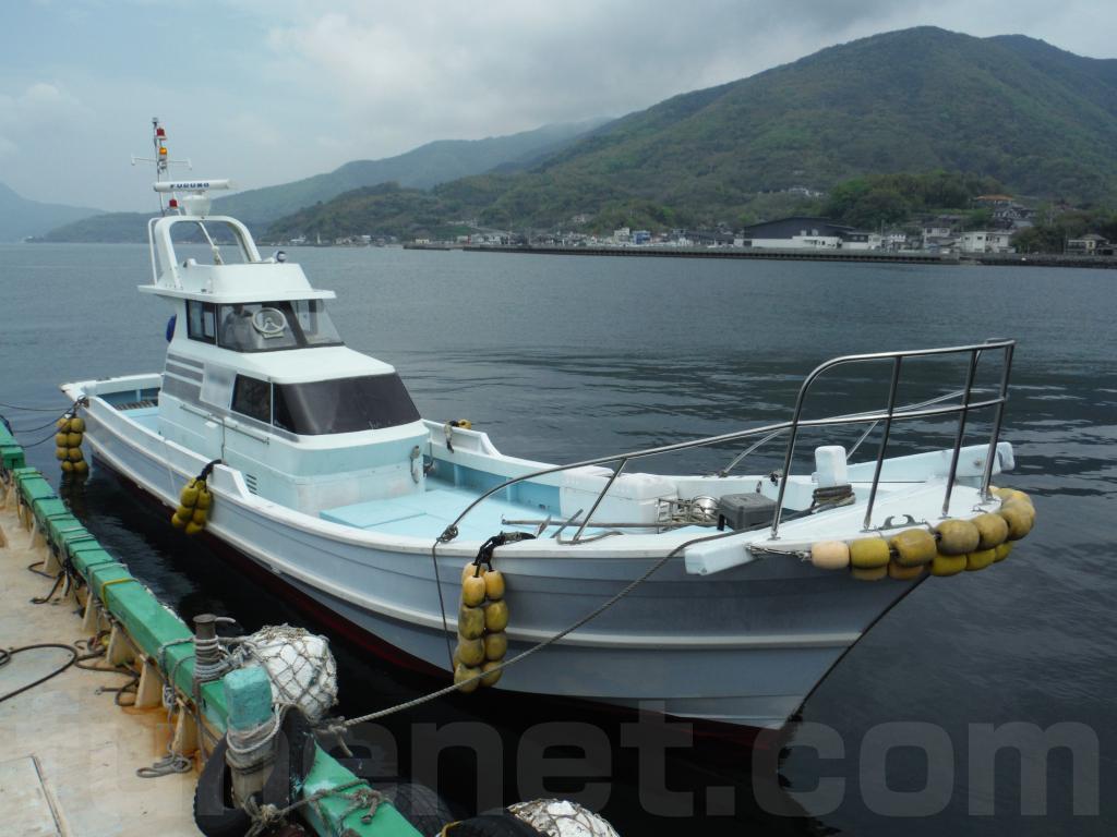 濱石造船所 42f ヤンマー高馬力エンジン仕様 (高速遊漁艇)